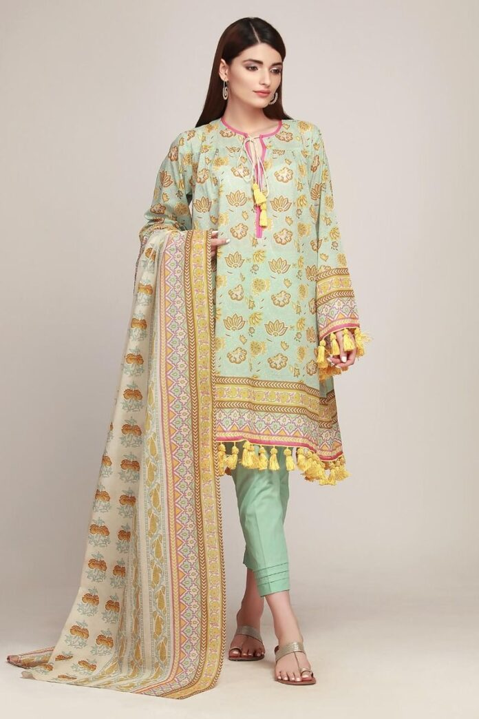 Khaadi Latest Summer 2019 Lawn Dresses Designs Collection