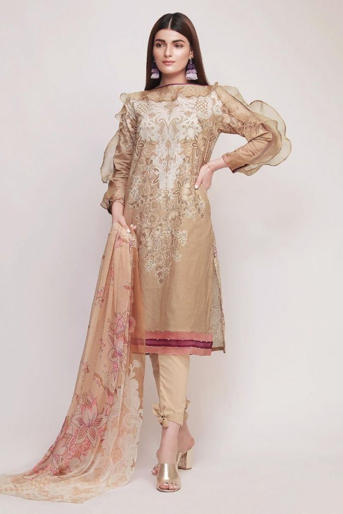 Khaadi Summer Lawn Dresses 2020 Collection