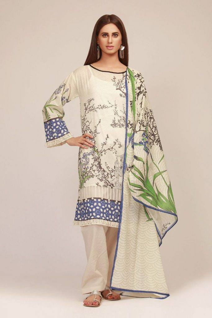 Khaadi Summer Lawn Dresses Designs Collection 2020