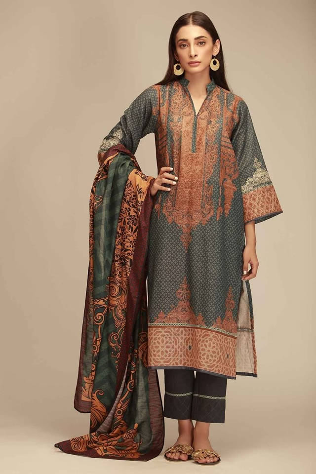 Khaadi-lawn-print-suits-collection