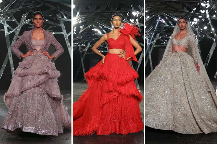 falguni-shane-peacock-collection-at-fdci-india-couture-week-2019