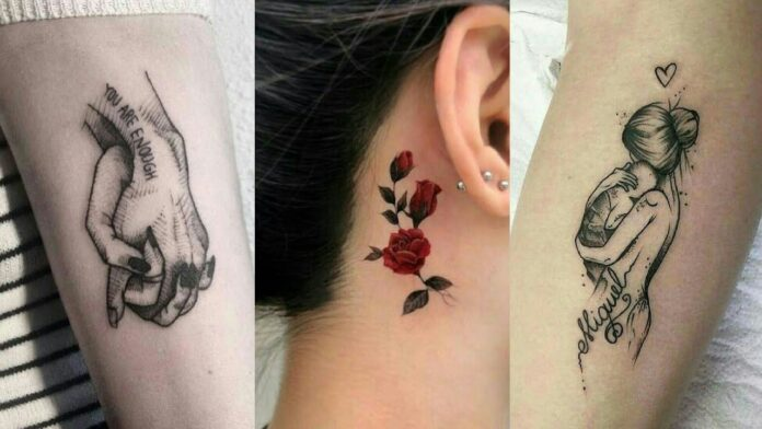 Stylish Tattoos For Girls 20 On Hand, Wrist, Neck and Shoulder ...