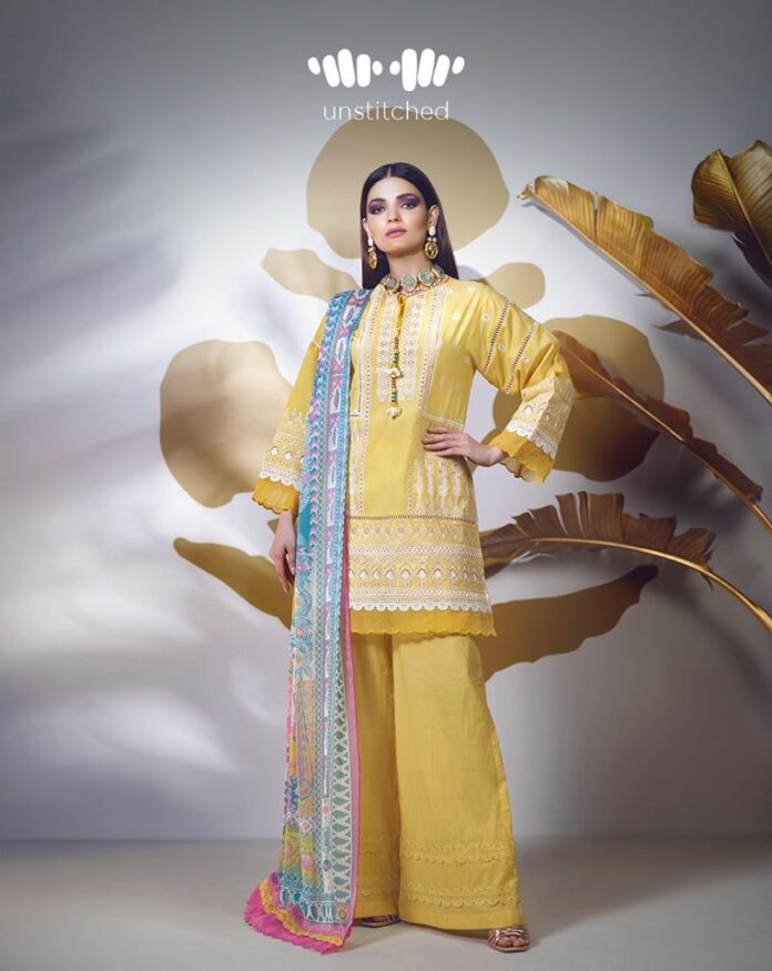 Signature Unstitched Embroidered Collection by Khaadi